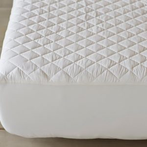 COYUCHI Organic Cotton Mattress Pad - Fitted