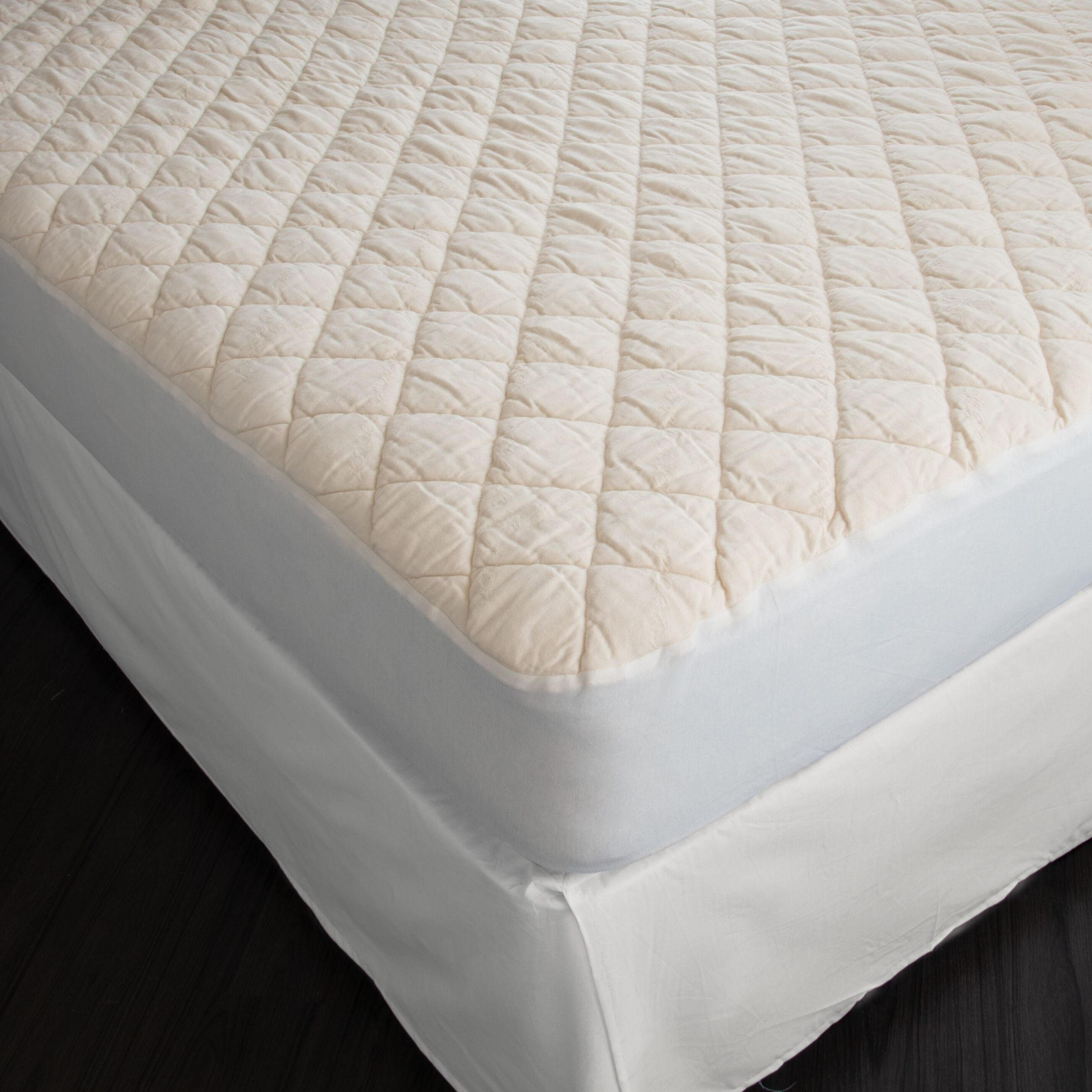 Suite Sleep Washable Wool Deep Pocket Fitted Mattress Pad