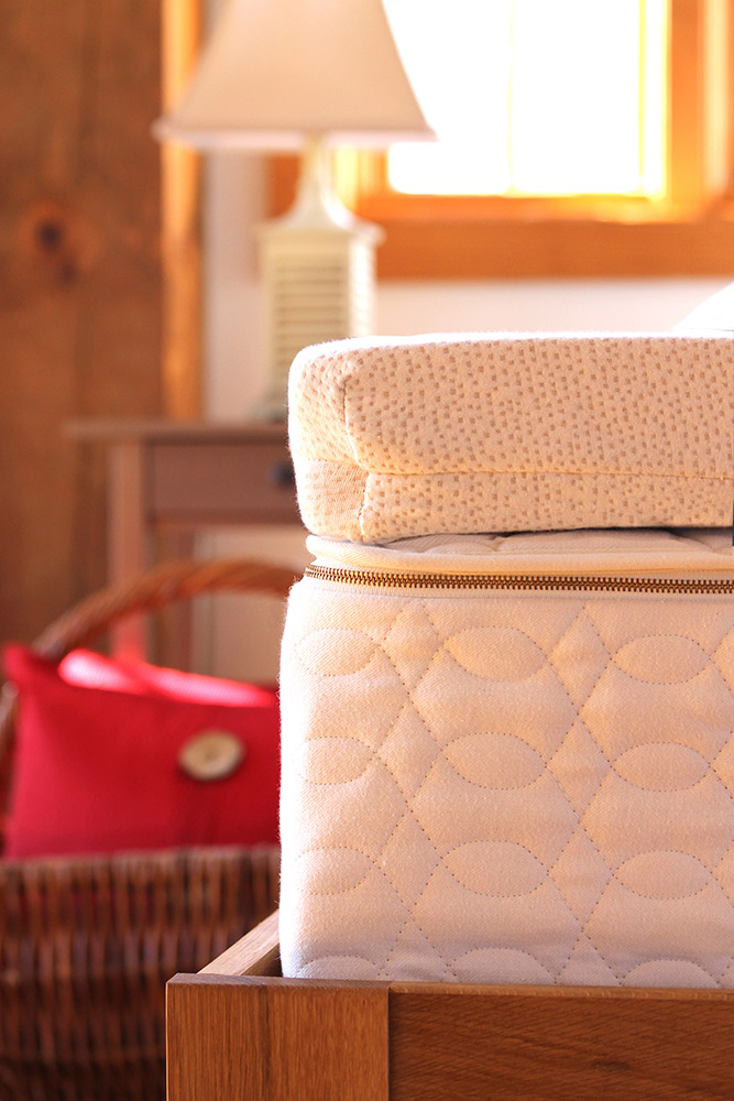 "Savvy Rest ""Vitality"" Natural Latex Organic Mattress Topper"