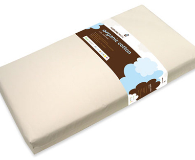 Naturepedic No Compromise™ Organic Crib Mattress - 2-stage dual firmness