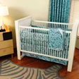 Cotton Monkey Organic Baby Bedding - Eyes of the World