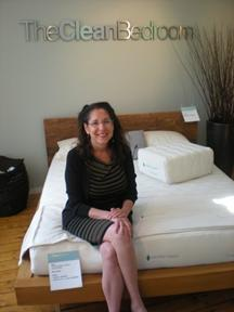 Westport organic mattress showroom